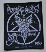 ROTTING CHRIST - Black Metal - 9 cm x 10,4 cm - Patch