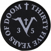 SAINT VITUS - 35 Years Of Doom - 10 cm - Patch