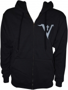 SAINT VITUS - V Logo - Fruit Of The Loom Zip Hooded Jacket