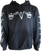 SAINT VITUS Logo - Gildan Hooded Sweatshirt