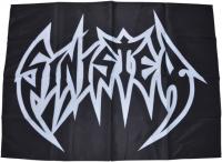 SINISTER Logo 70 cm x 94 cm Flag