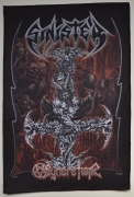 SINISTER Syncretism 33,1 cm x 22,1 cm Backpatch