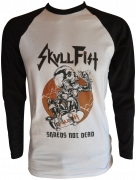 SKULL FIST Shreds Not Dead Baseball Longsleeve
