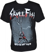 SKULL FIST Shreds Guitar T-Shirt