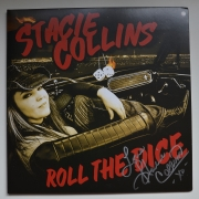 STACIE COLLINS Roll The Dice - Unterschriebene Gatefold-Vinyl-LP