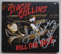 STACIE COLLINS Roll The Dice - Signed Digipak-CD