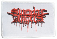 SUICIDAL ANGELS White patch with red Logo