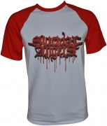 SUICIDAL ANGELS Bloody Logo Baseball-T-Shirt