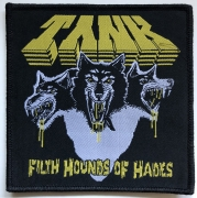 TANK - Filth Hounds Of Hades - 10,2 cm x 10,4 cm - Black-Background - Patch