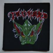 TANKARD - Alien Logo - 10,5 cm x 10,5 cm - Patch