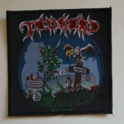 TANKARD One Foot In The Grave Patch - 10,2 cm x 10,2 cm