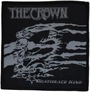 THE CROWN - Deathrace King - 10 cm x 10,3 cm - Patch