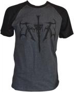 THYRFING Charcoal/Black T-shirt Black Logo