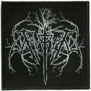 THYRFING Logo WOVEN PATCH 10 cm x 9,8 cm (o266a)