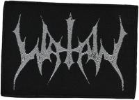 WATAIN - Silver Logo - 11,5 cm x 8,8 cm - Patch