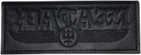 WATAIN - Winged Logo - Leather Patch - 16 cm x 6,5 cm
