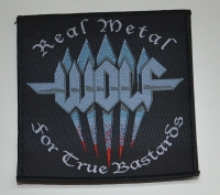 WOLF Real Metal Patch