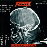 ACCEPT Death Row CD