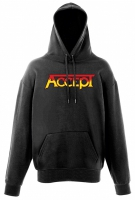 ACCEPT Orange Logo Hooded Sweatshirt