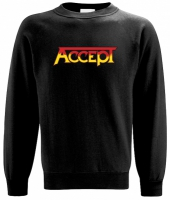 ACCEPT Orange Logo Sweatshirt