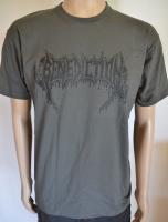 BENEDICTION Logo graues T-Shirt