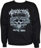 BENEDICTION Pactum Serva Sweatshirt