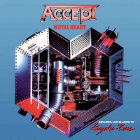 ACCEPT Metal Heart+Kaizoku-Ban ( Live In Japan ) CD
