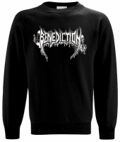 BENEDICTION Old School Logo Sweatshirt