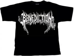 BENEDICTION Old School Logo T-Shirt