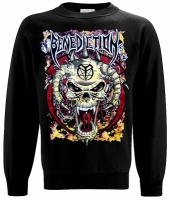 BENEDICTION Skull Sweatshirt