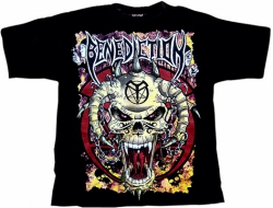 BENEDICTION Skull T-Shirt